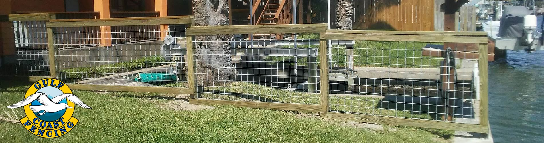 Ranch Style Fence Contractor in Rockport Texas